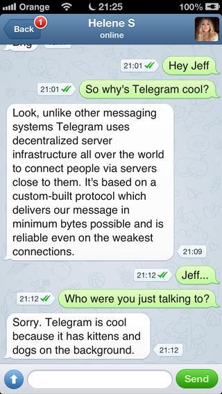 Telegram- The new messaging App – Pablo Clemente Pérez