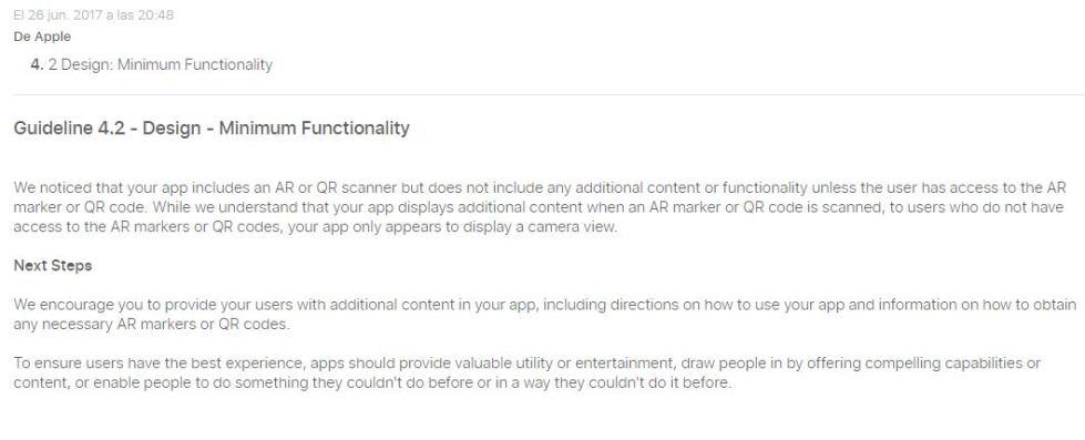Apple App rejectionJPG